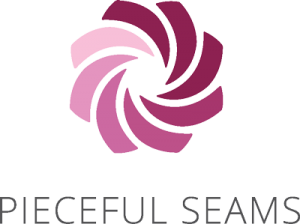 Pieceful Seams Logo